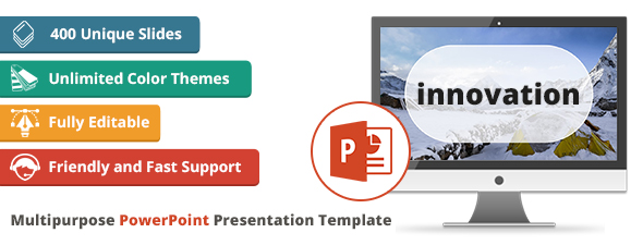 innovation multipurpose powerpoint presentation template by as 4it